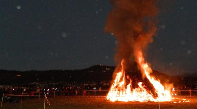 #fuoco epifanico a Cormons