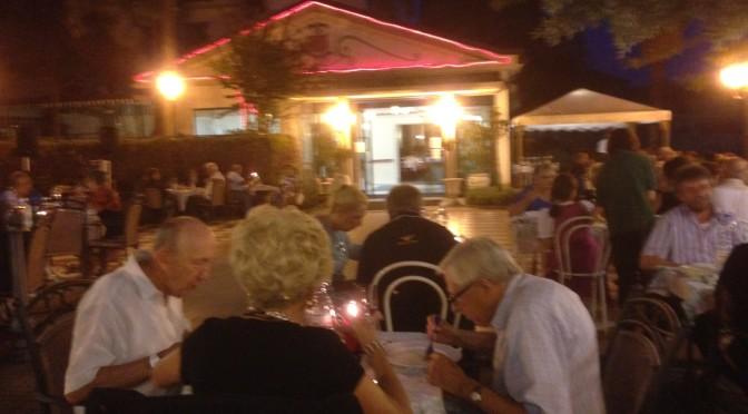 La nostra Cena sotto le Stelle presso  l'Hotel Felcaro